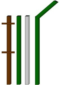 изготовление металлические столбы в Абакане