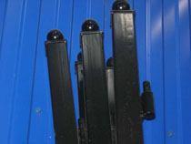 монтаж металлические столбы в Абакане