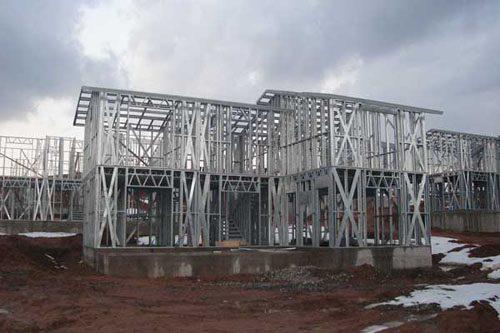 Здания на основе облегчённого металлического каркаса в Абакане
